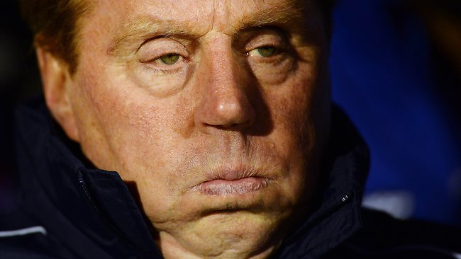 Queens Park Rangers' manager Harry Redknapp looks on at the EPL clash with Fulham at Craven Cottage. Picture: Ben Stansall
