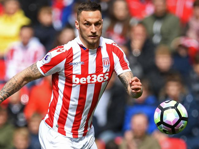 Stoke cashed in on Austrian striker Marko Arnautovic, selling to West Ham.