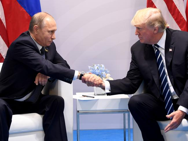US authorities are investigating allegations of Russian meddling in the federal election. Picture: Saul Loeb