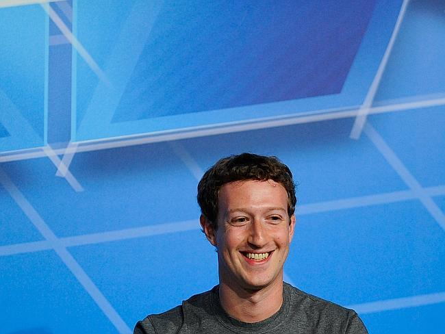 Young blood ... Mark Zuckerberg leads a group of 31 billionaires under 40 years old.