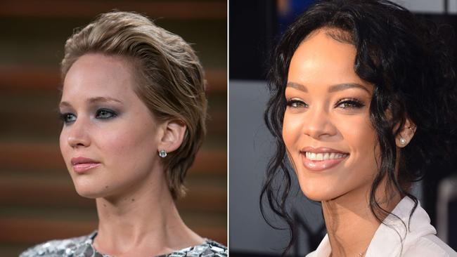 Jennifer Lawrence and Rihanna are among high-profile victims of the leaks.