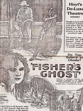 Fisher's Ghost has become a legend in Australia, appearing in plays.