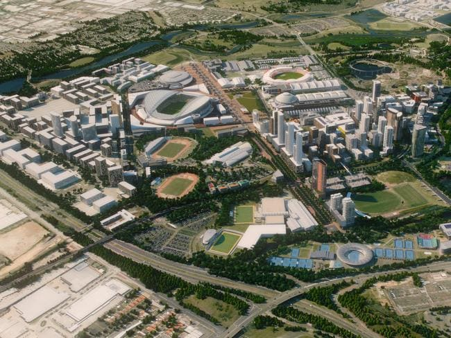 Project Sydney Olympic Park Will Be Our New Golden Mini City