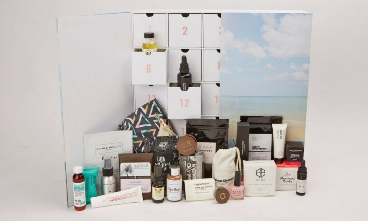 THE ULTIMATE BEAUTY CALENDAR: If you've got a beauty lover in your life (or you are one) this is the only advent calendar you need. It's filled with $500 worth of gorgeous products and 14 of them are full size. There are serums, creams, highlighters, lotions and even perfume tucked away in side. At $200 it is expensive – but totally worth it and available at The Beauty Advent Calendar