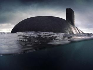 "This computer-generated handout image released by the French industrial naval, defence and energy group DCNS on April 26, 2016 shows a 4,500 tonne Barracuda shortfin submarine. France on April 26, 2016 beat off competition from Germany and Japan to win a Aus$50 billion (US$39 billion) contract to design and build Australia's next generation of submarines, a decision Tokyo called ""deeply regrettable"". DCNS has said it plans to build a 4,500-tonne conventionally-powered version of its 4,700 tonne Barracuda, to be named Shortfin Barracuda. It is described by the company as ""the most technically complex artefact in Australia"". / AFP PHOTO / DCNS / HO / RESTRICTED TO EDITORIAL USE - MANDATORY CREDIT ""AFP PHOTO / DCNS"" - NO MARKETING NO ADVERTISING CAMPAIGNS - DISTRIBUTED AS A SERVICE TO CLIENTS - NO SALES"