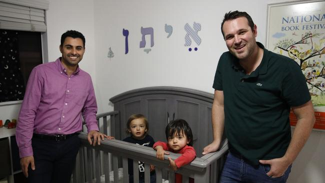 Bi-national gay couple sues after one son is awarded US citizenship but the other isn't