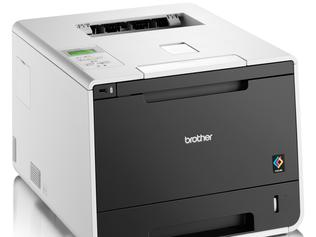 The Brother HL-L8350CDW Wireless High Speed Laser Printer.