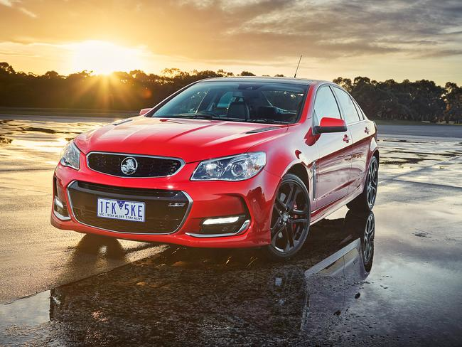 In demand ... the 2015 Holden Commodore SS-V Redline. Picture: Supplied