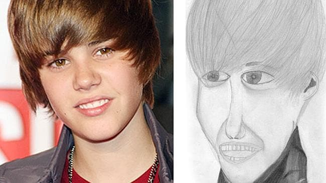 Justin, you look a little sketchy. GEDDIT?