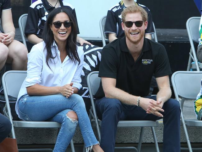 The new royal couple, above in Toronto in September, will attend the 2018 Invictus Games in Sydney next October. Picture: Splash News.