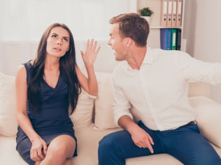 confrontation is a healthy part of any relationship. Photo: iStock