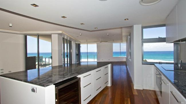 Ocean views, three bedrooms and 304sq m of floor space in Tugun on the Gold Coast. Picture: realestate.com.au