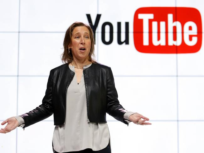 YouTube CEO Susan Wojcicki has promised advertisers the company will do more. Picture: Reed Saxon