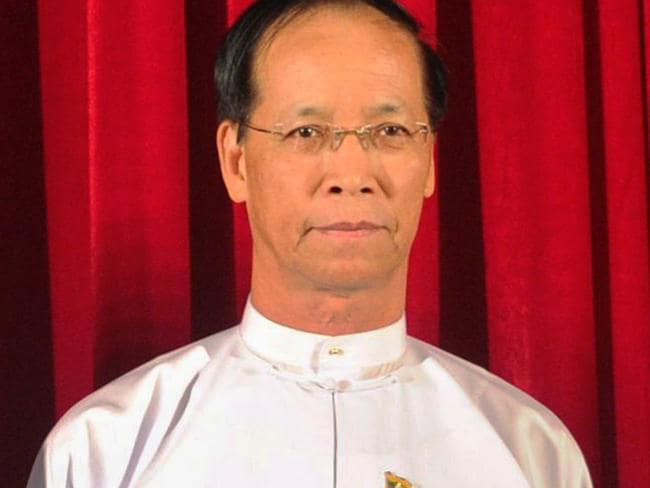 Outgoing party ... Myanmar Vice President Sai Mauk Kham was also put forward as a candidate. Picture: AFP