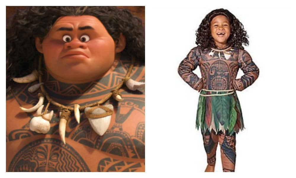 People are furious over this Moana costume from Disney