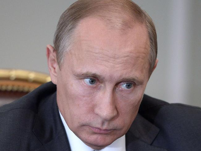 Russian President Vladimir Putin's move has outraged political leaders in Australia. Pic: AFP.