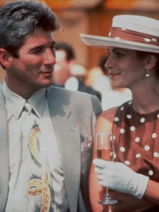 Fairytale ... Richard Gere was Prince Charming and Julia Roberts became Rapunzel. Picture: Supplied
