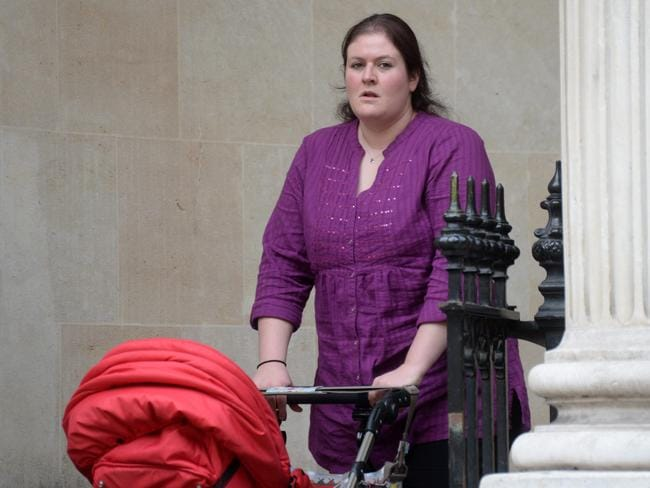 Brooker gave birth in September last year, and her barrister claimed she had turned her life around.