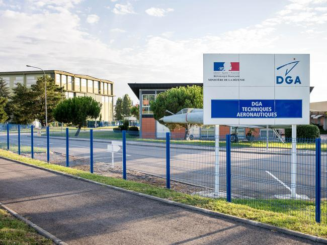 Testing centre ... the Direction generale de l'armement (DGA) facilities in Balma, near Toulouse, south-western France, where the France's BEA crash investigation agency will verify the debris. Picture: AP