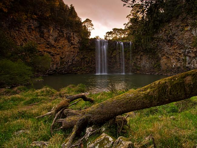 <b>6. DORRIGO, NSW:</b> The sun sets over Dangar Falls. Picture: Ian Spagnolo, NSW
