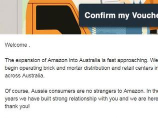 Amazon scam email doing the rounds