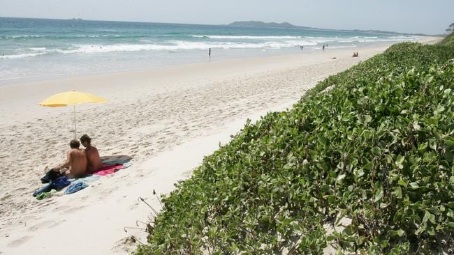 Tyagarah Beach has become known as a place that attracts 'sex pests'. Picture: Adam Head