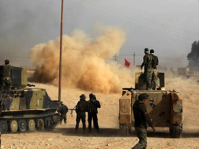 Iraqi forces continue to force IS jihadists out. Picture: AFP
