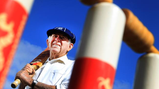 Bernard Smart, 81, is disappointed to see the century-old Southern Cricket Association fold Picture: Dean Martin