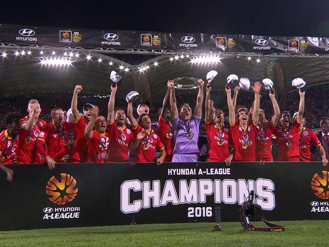 Adelaide wins first A-League grand final