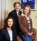"<p>1997... Asher keddie with Wendy Hughes and Robert Grub in the Channel 10 TV show ""State Coroner"".</p>"