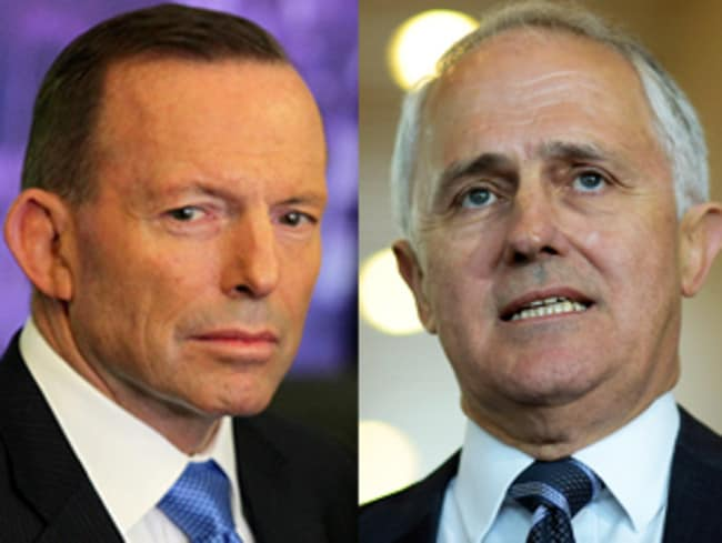 Tony Abbott isn't going quietly after being displaced by Malcolm Turnbull.