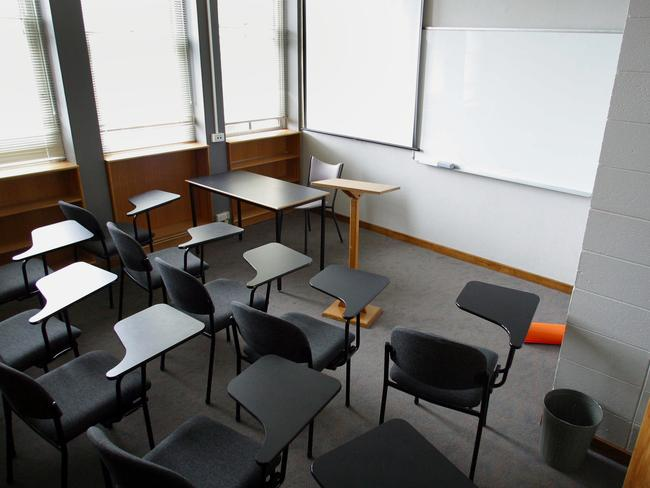 The Monash University, Clayton campus tutorial room where the shooting took place.