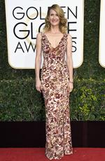 Laura Dern attends the 74th Annual Golden Globe Awards at The Beverly Hilton Hotel on January 8, 2017 in Beverly Hills, California. Picture: Getty