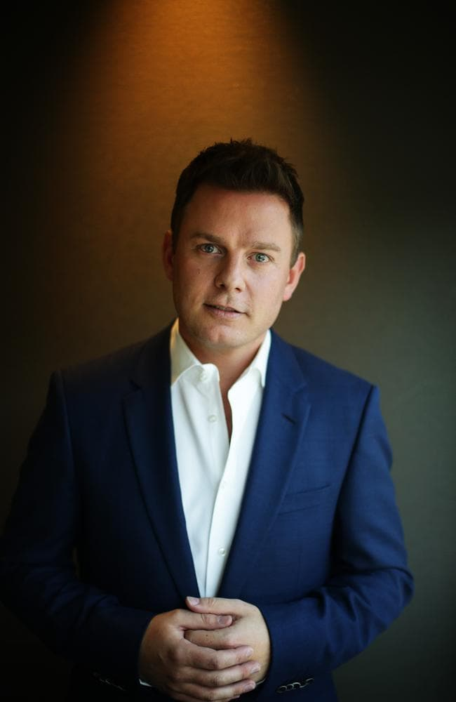2GB radio star Ben Fordham. Picture: Brett Costello