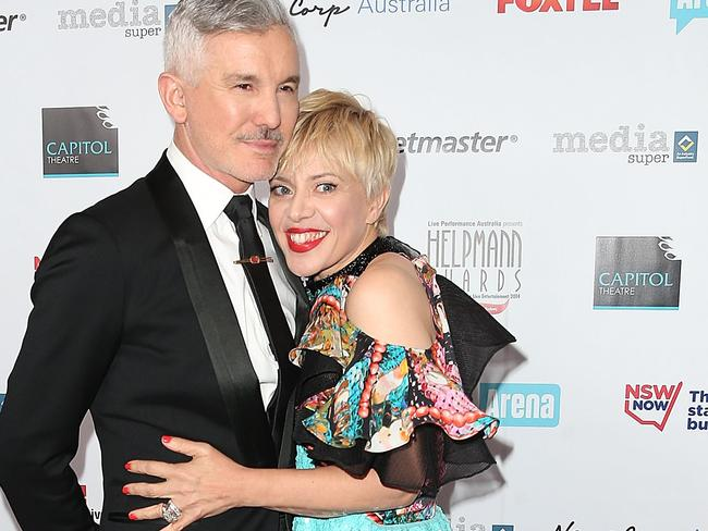 Baz Luhrmann and wife Catherine Martin arrive at the 2014 Helpmann Awards in Sydney this week. (Photo by Mark Metcalfe/Getty Images)