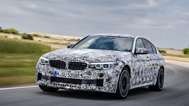 BMW M5: Likely outputs are 250kW and 700Nm.
