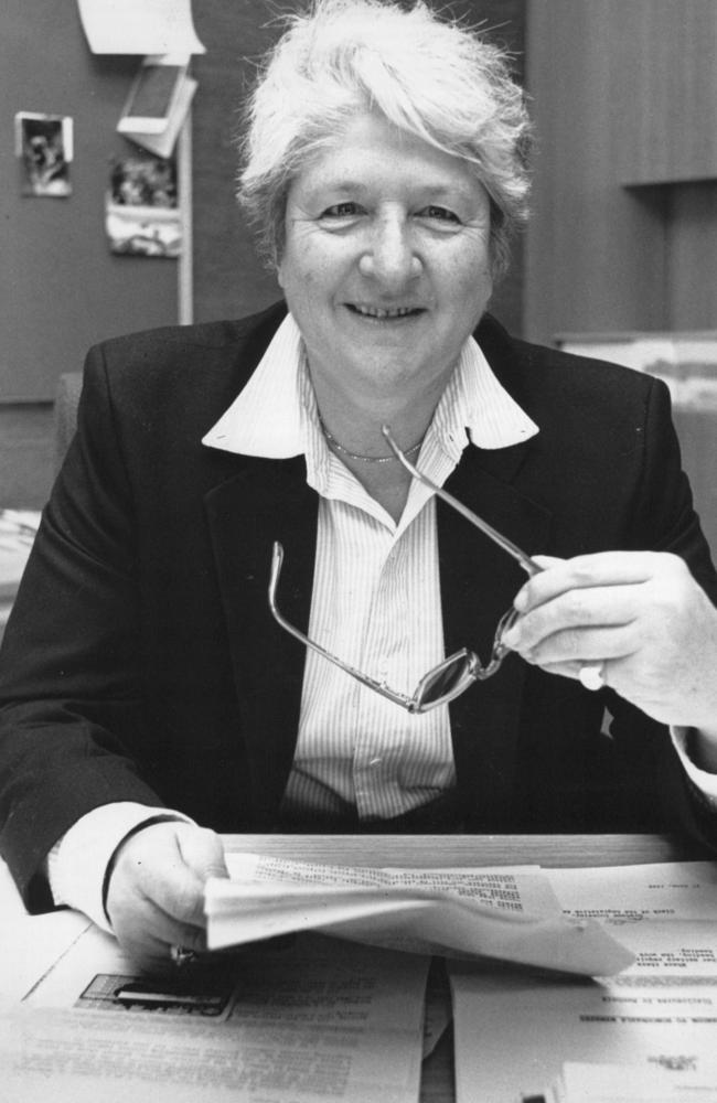 Dawn Fraser in politics mode back in 1988.