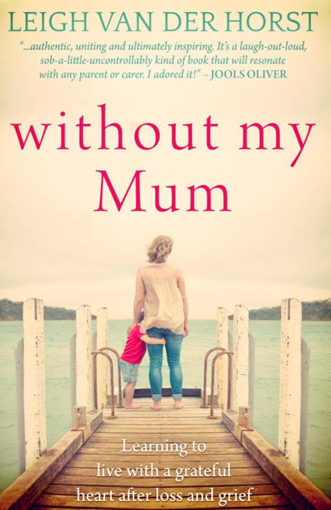 Leigh wants her book to help bereaved mothers through their darkest times.