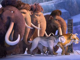 Scene from Ice Age 5: Collision Course