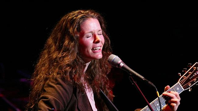 Famous wife... Edie Brickell is a well-known singer in her own right. Picture: Matthew Pe