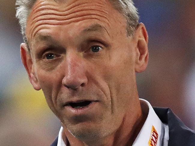 Titan's coach Neil Henry during NRL match Parramatta Eels v Gold Coast Titans at ANZ Stadium. Picture. Phil Hillyard
