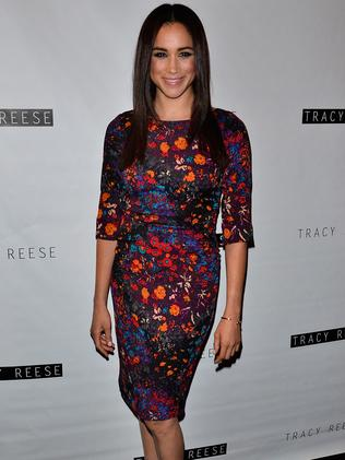 Meghan Markle attends Mercedes-Benz Fashion Week in New York City in 2013. Picture: Brian Killian/WireImage