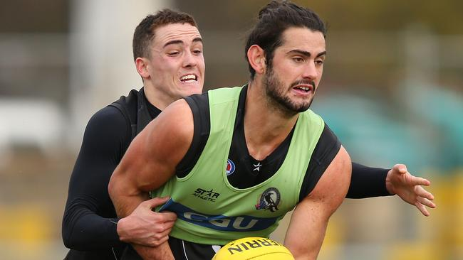 Brodie Grundy will bolster the Collingwood line-up against Gold Coast.