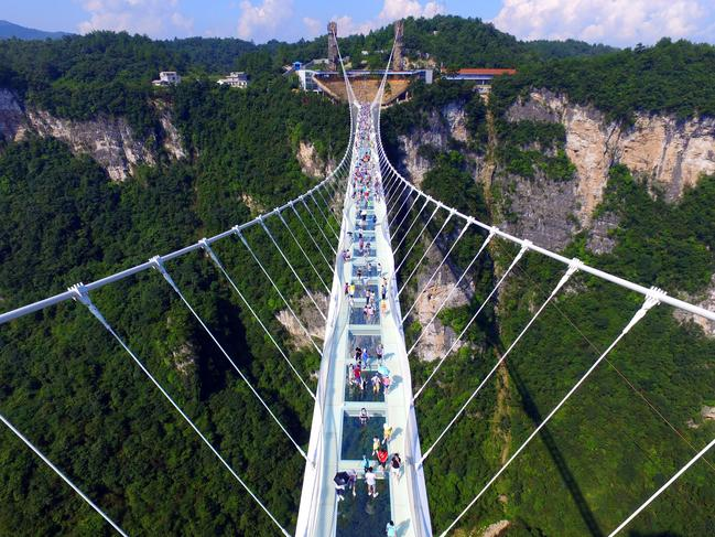 Is this the world's scariest walk?