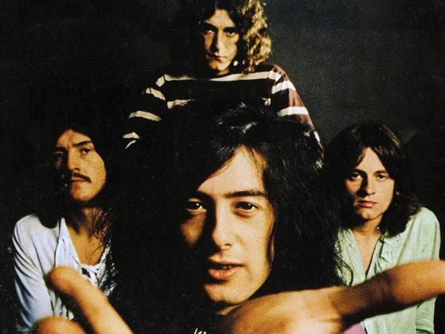 Much loved ... Led Zeppelin is still one of the most loved bands from the 20th Century.