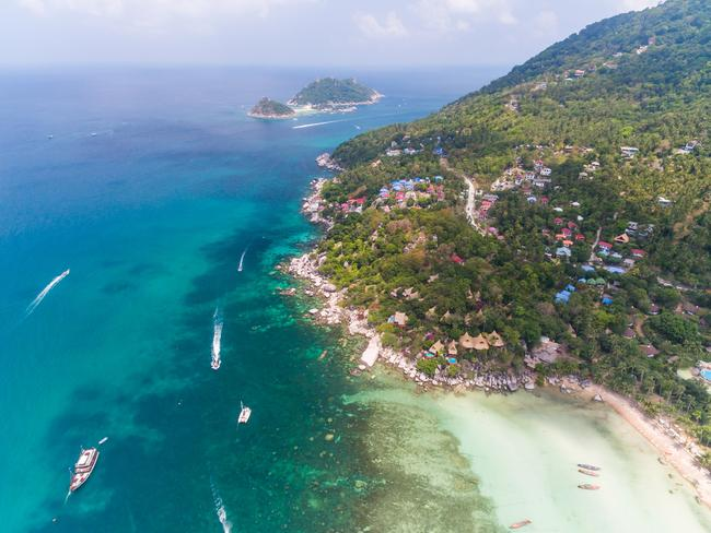"Koh Tao has been dubbed ""Death Island""."
