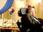 Stephen Hawking's Time travel party. Picture: Discovery Communications