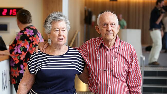 Fighting for his freedom ... Lois and Juris Greste, parents of jailed Australian journalist Peter Greste. Picture: Liam Kidst...