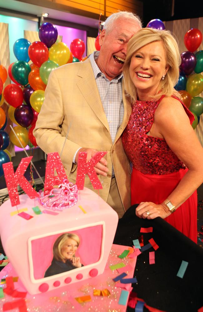 John supported Kerri-Anne Kennerley after her show Mornings With Kerri-Anne was axed. Picture: NewsCorp.