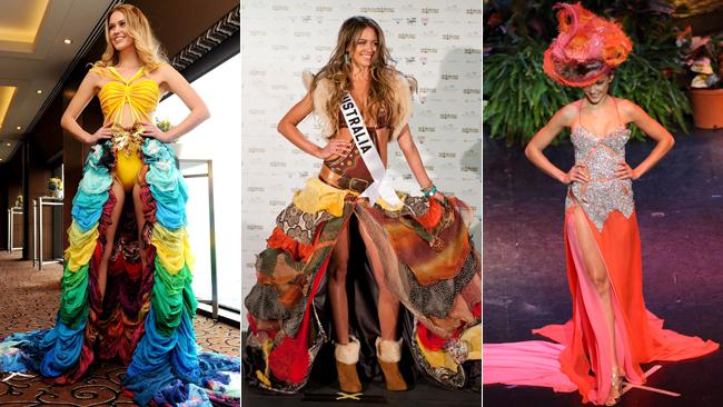 Miss Universe past costumes